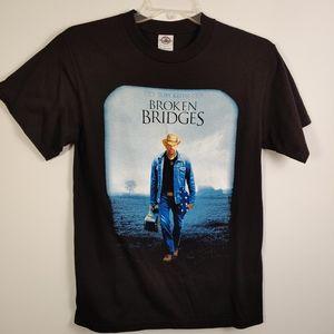 Toby Keith Broken Bridges shirt - Medium